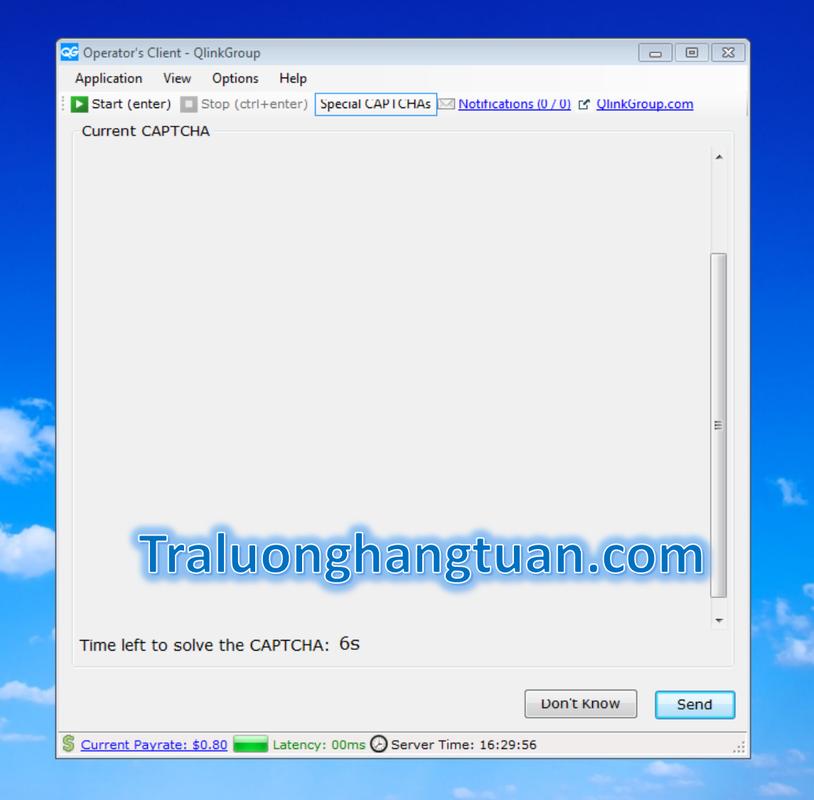 Hướng dẫn làm việc Qlinkgroup - Traluonghangtuan com - Bạn đã sẵn